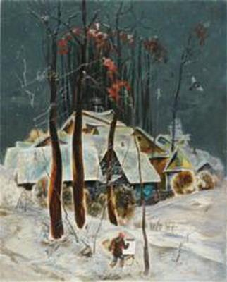 Персональная выставка А.Ф. Саликова