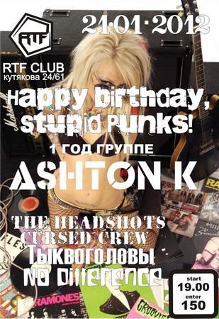 Happy birthday, Stupid Punks!