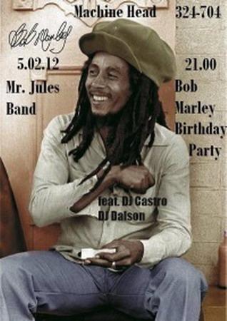 """""""Mr. Jules Band"""" - Bob Marley Birthday Party"""