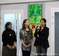 Репортаж об открытии выставки